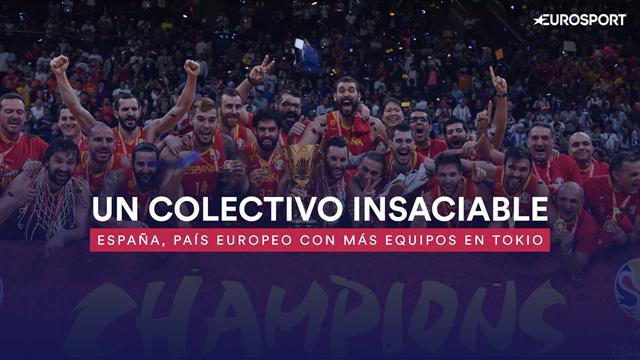 Un colectivo insaciable: España es el país europeo con más equipos en Tokio
