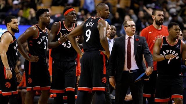 15'te 15: NBA'in en formda takımı Toronto Raptors