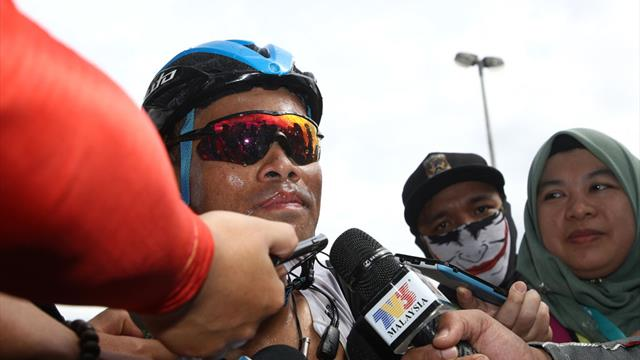 Malaysian favourite Saleh takes Stage 5 win at Le Tour de Langkawi