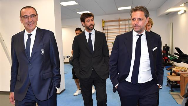 Juve a rapporto: vertice Sarri-Agnelli-Paratici - Sportmediaset