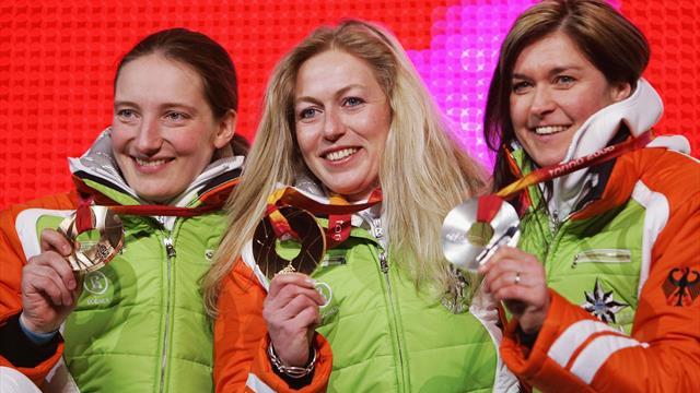 Kein Tag wie jeder andere: Deutsche Rodlerinnen feiern Dreifachsieg bei Olympia