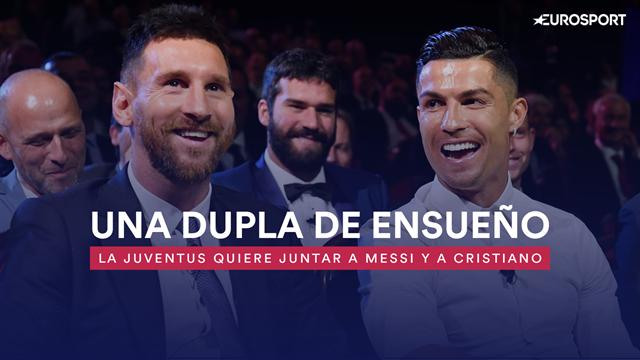 La Juve quiere juntar a Messi y a Cristiano: así sería el nuevo 'Dream Team' de Guardiola