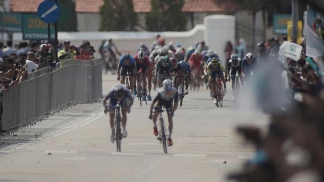 Tour de Langkawi: sesta tappa a Nakane. Primo podio per Battistella (3°), Celano sempre leader