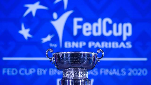 Holders France grouped with Russia for Fed Cup Finals