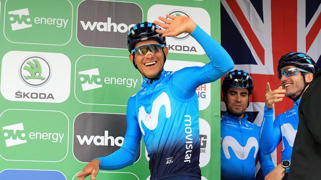 Team INEOS announce signing of Andrey Aamador on a three-year deal