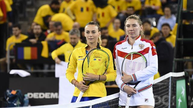 """Ekaterina Alexandrova, despre atmosfera creată de fanii români în Fed Cup: """"Toată lumea urla"""""""