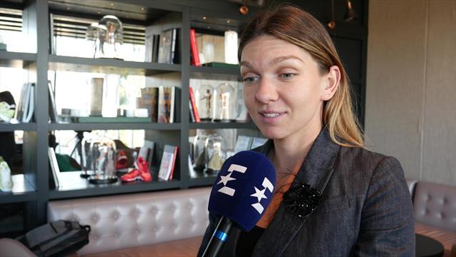 Simona Halep - interviu exclusiv pentru Eurosport