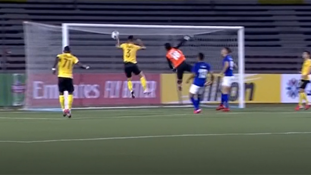 Watch - OUTRAGEOUS 'Hand of God' goal missed by officials