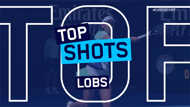 Top 5 lobs from the Australian Open