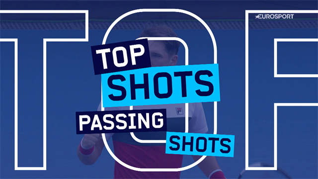 Top 5 passing shots from the Australian Open
