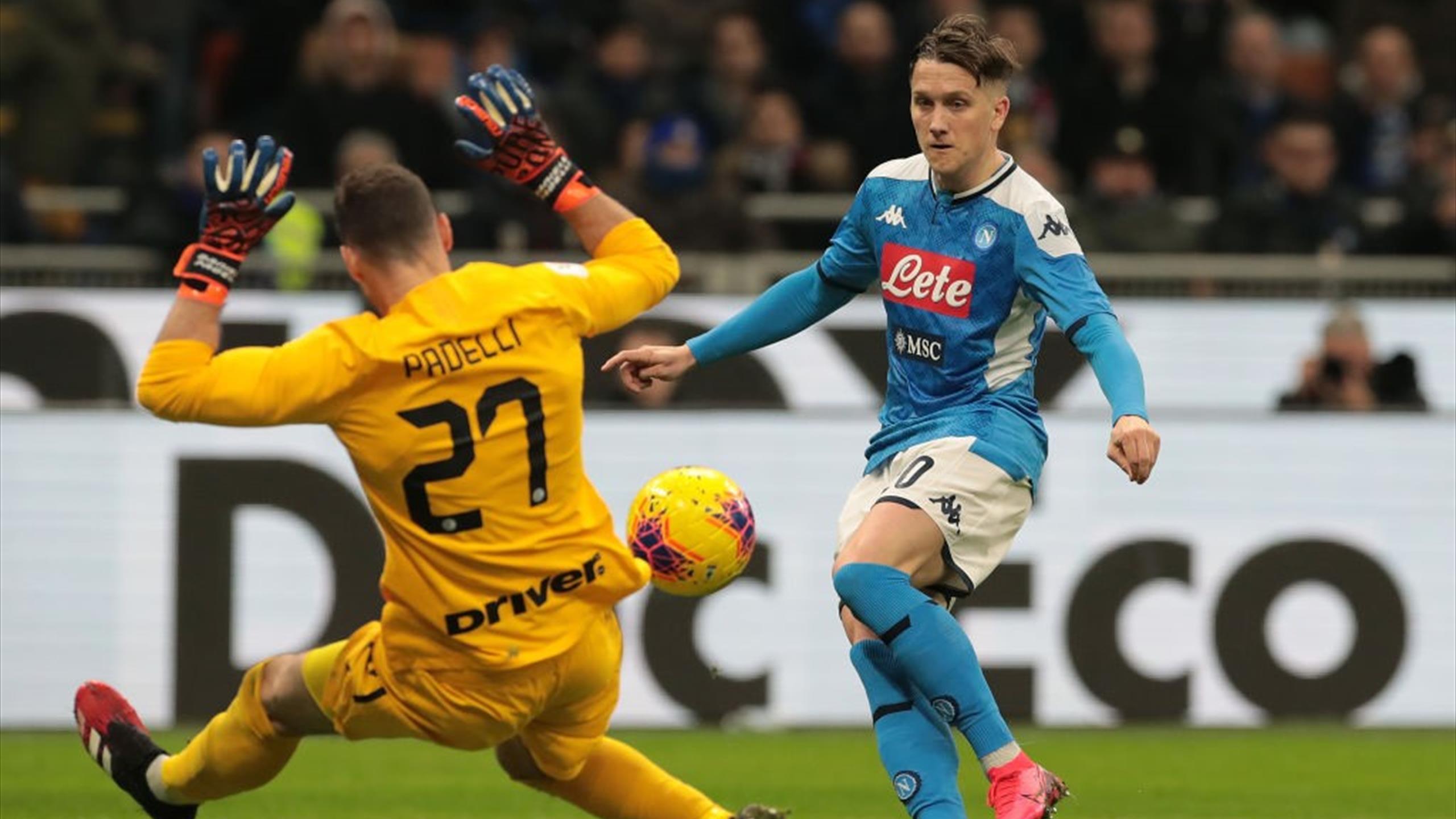 Inter Napoli In Diretta Tv E Live Streaming Eurosport