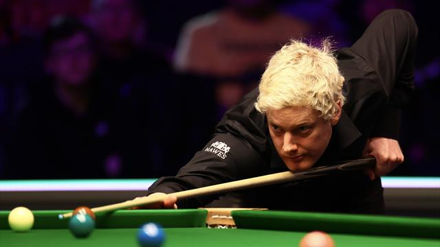 Robertson, Trump and Ding through, Allen out in Welsh Open third round