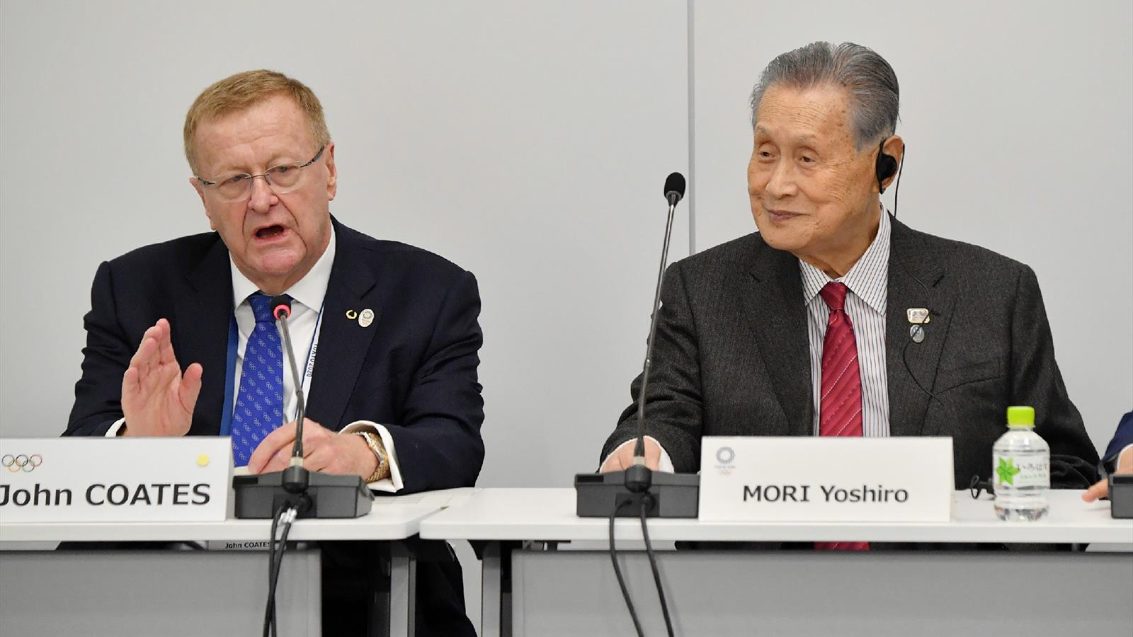 Tokyo 2020 president Yoshiro Mori, an 82-year former prime minister and cancer survivor, pointed to his own health battles as inspiration for the difficult times (Image: Eurosport)