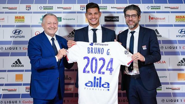 Juninho, Pogba, Atlético, équilibre : ce qu'il faut retenir de la présentation de Bruno Guimarães