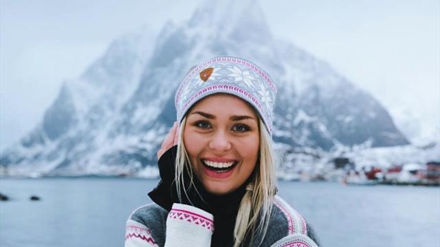 Нордическая красотка покорила не лыжню, а Нуртуга. Легенда лайкает ее фото и зовет на вечеринки