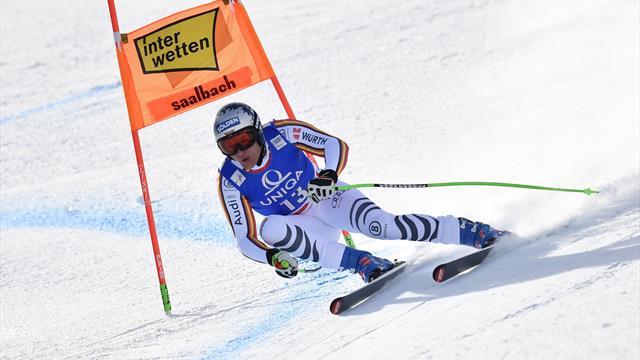 Esquí, Saalbach-Hinterglemm: Dressen logra su tercera victoria en descenso de la temporada