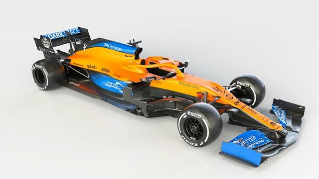 McLaren-Renault présente la MCL35