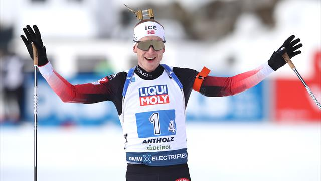 Highlights: Norway take dominant win in mixed relay