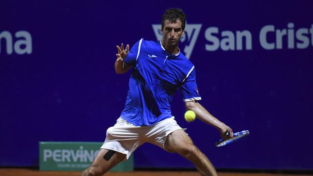 ATP Buenos Aires (1/8 final), Pablo Cuevas-Albert Ramos: Falló el físico al final (6-4, 4-6 y 6-4)