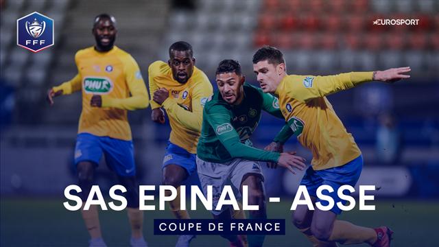Le résumé d'Epinal - Saint-Etienne