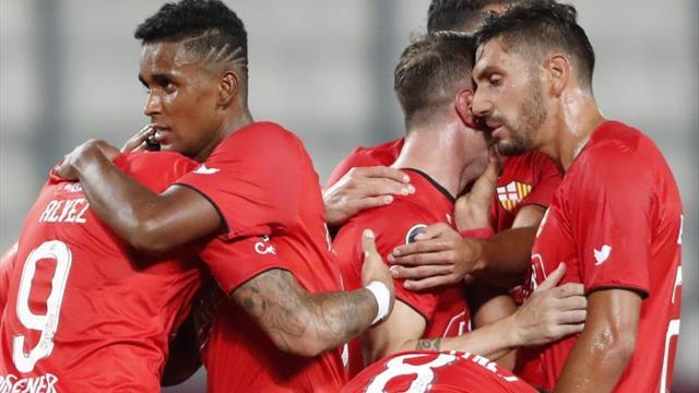 2-1. Barcelona cae en Lima, pero avanza a la tercera fase de la Libertadores