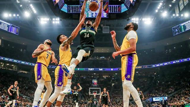 El mundo de las apuestas ve a los Lakers y a los Bucks favoritos al título de la NBA
