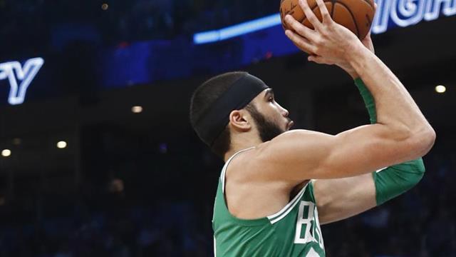 144-133. Tatum gana el duelo a Leonard y Celtics vencen a LA.Clippers