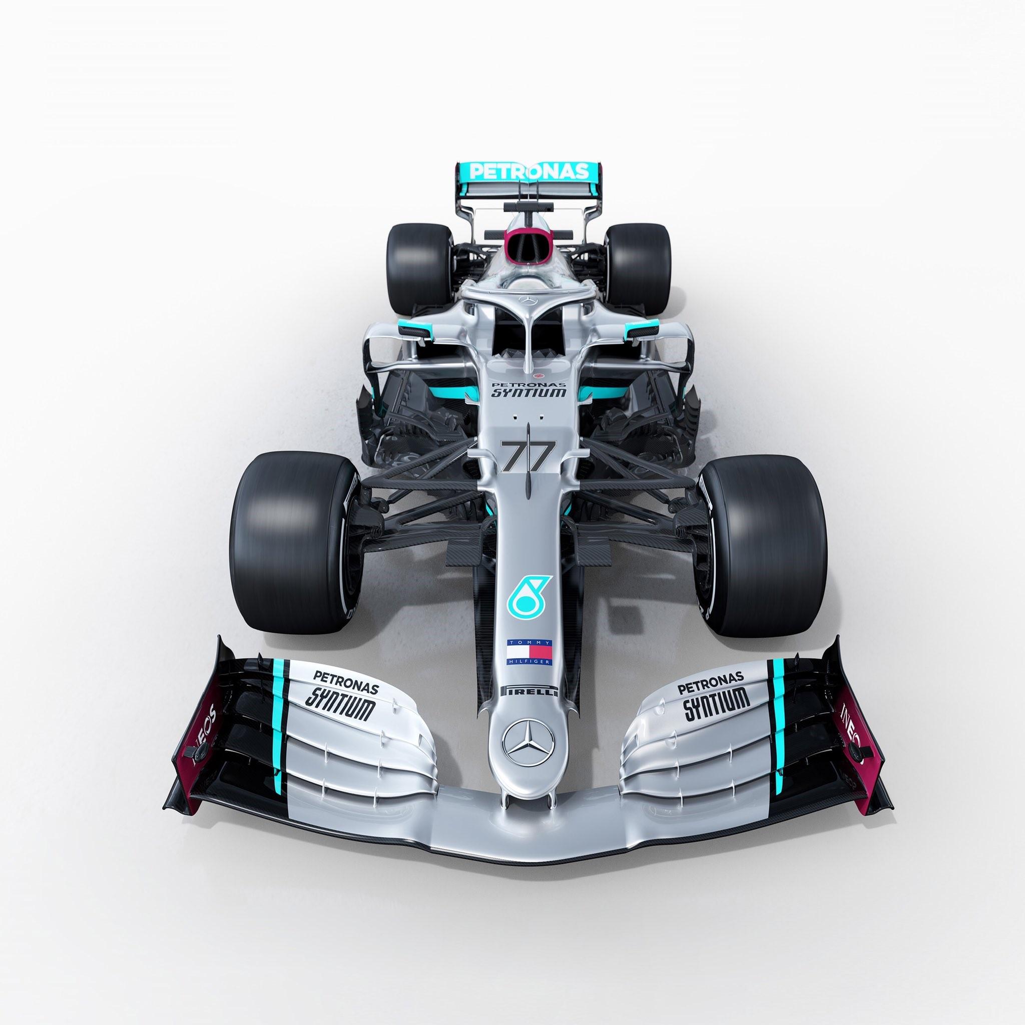 Mercedes W11 - Formula One 2020 (Photo: @MercedesAMGF1)
