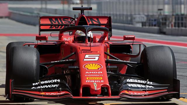 Testfahrten in Barcelona: Vettel darf als Erster im neuen Ferrari sitzen