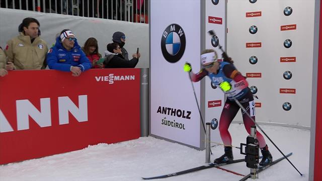 Главные моменты женского спринта, в котором Ульсбю поддержала доминирование Норвегии