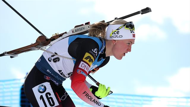 Roeiseland holds off Dunklee and windy conditions to become sprint world champion
