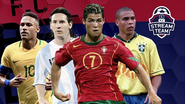 Messi et Neymar ont aussi disputé les JO, mais seul Ronaldo se rapproche du cas Mbappé