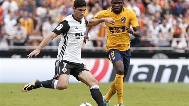 Guedes y Gayà, en el Valencia; Vitolo y Correa, en el ataque del Atlético