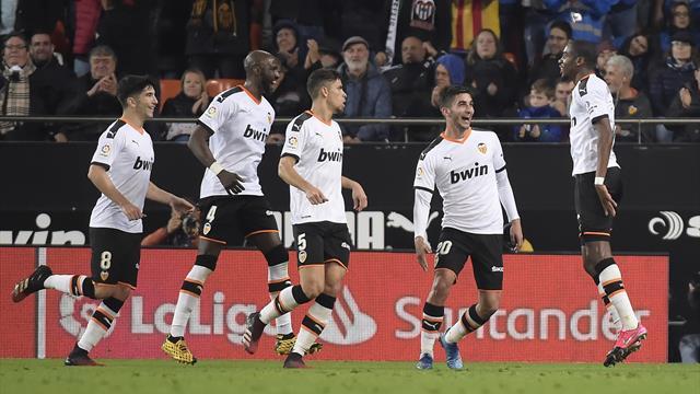 Il Valencia riprende due volte l'Atletico Madrid prima dell'Atalanta: 2-2 nello scontro Champions