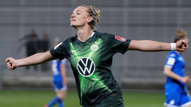 Tor-Gala im Topspiel: Tabellenführer Wolfsburg demontiert Hoffenheim