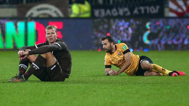 Kein Sieger im Krisenduell auf St. Pauli - Kleindienst stoppt Nürnbergs Serie