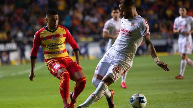 1-1. El ecuatoriano Angulo rescata empate de Xolos en la casa del Morelia