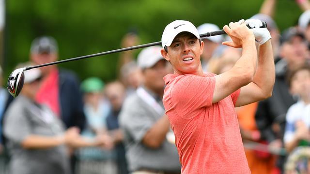 McIlroy se rapproche de Kuchar, Tiger Woods distancé