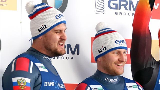 Денисьев и Антонов взяли серебро и принесли России пятую медаль ЧМ