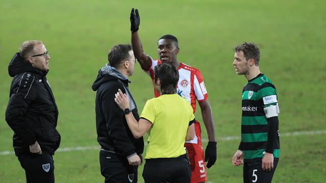 """Nach Rassismus-Vorfall in der dritten Liga: Kwadwo """"einfach nur traurig"""""""