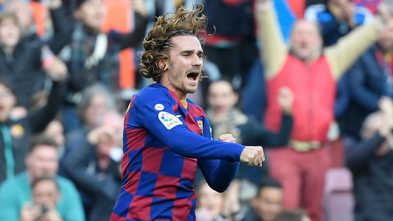 Griezmann - Barcelona-Getafe - Liga 2019/2020 - Getty Images