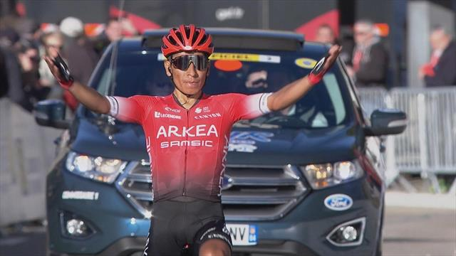 Tour de La Provence (3ª etapa): Quintana se exhibe en su primer triunfo con el Arkea