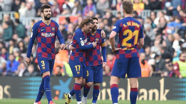 BARCELLONA - Jordi Alba, problema muscolare all'adduttore della gamba destra