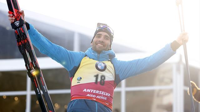 Martin Fourcade champion du monde de l'individuel