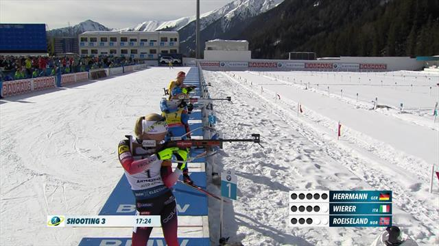 Highlights: Wierer takes pursuit world title