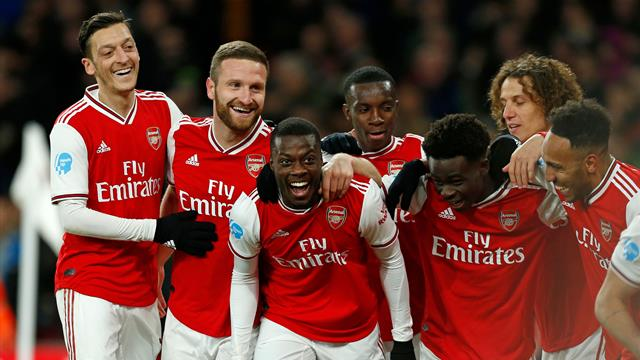 Arsenal storm to first league win since New Year's Day over Newcastle