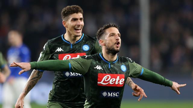 Mertens curler earns Napoli narrow win at Cagliari