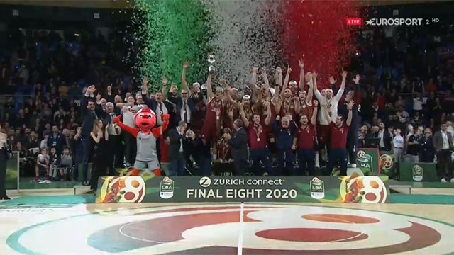 Il momento più atteso dalla Reyer Venezia: arriva la Coppa Italia e scatta la festa