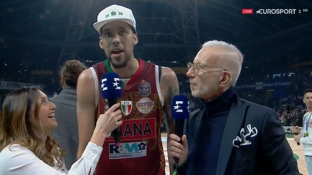 """Austin Daye è l'MVP di Coppa Italia: """"A Pesaro ho proseguito la tradizione di famiglia"""""""