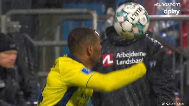 Kom igensah: Mensah taber indkast i regnen i Odense